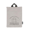 herschel supply co. - 'packable duffle' - reflective silver