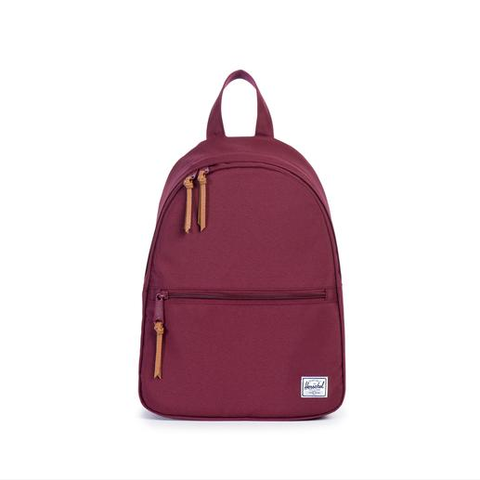 herschel supply co. - womens town backpack | windsor wine - shophearts - 1