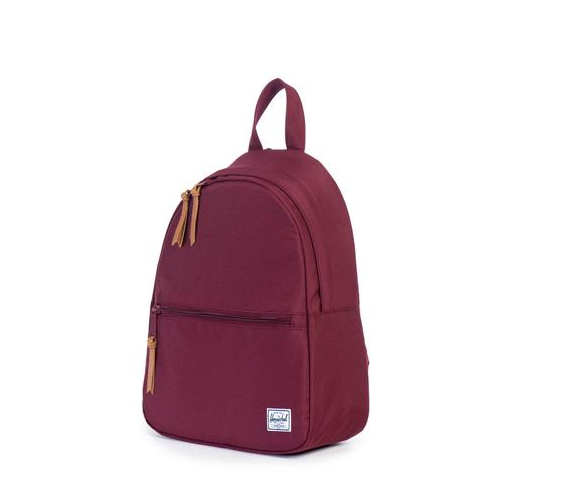 herschel supply co. - womens town backpack | windsor wine - shophearts - 3
