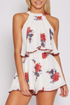dance all night floral halter romper - shophearts - 5