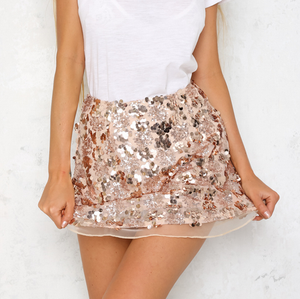 set the tone sequin disc separates- rose gold - shophearts - 7