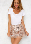 set the tone sequin disc separates- rose gold - shophearts - 8