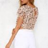 set the tone sequin disc separates- rose gold - shophearts - 14