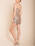 set the tone sequin disc mini dress - rose gold - shophearts - 5