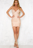 shine bright like a diamond bodycon dress - embellished rose gold - shophearts - 4