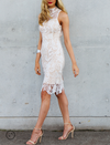 Lioness - Loves Divine Midi Lace Overlay Midi Dress - White - shophearts - 2