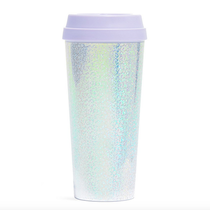 ban.do 'hot stuff' thermal travel mug holographic - shophearts - 1
