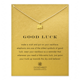 dogeared 'reminder good luck elephant necklace', 16