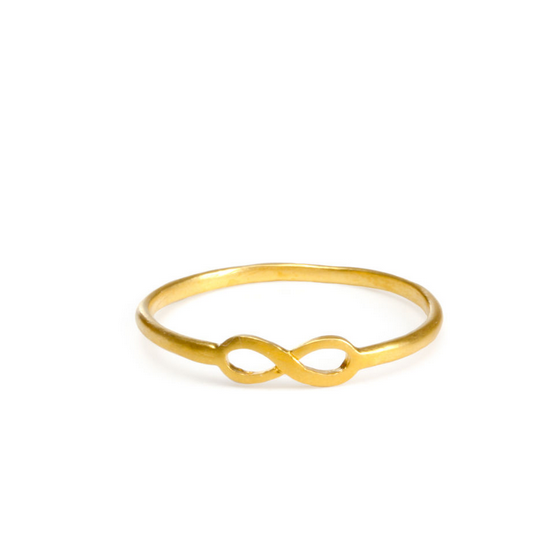 dogeared - infinite love infinity ring - gold or silver - shophearts - 2