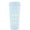 ban.do - hot stuff thermal mug - i am very busy - ice blue - shophearts - 2