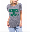 sub_urban riot - lettuce be friends loose crew neck tee - heather grey - shophearts - 2