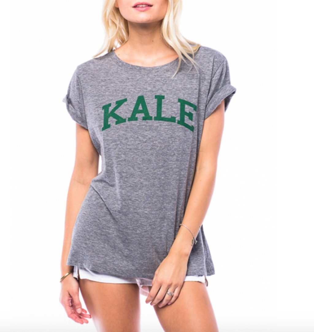 sub_urban riot - kale loose crew neck tee - heather grey - shophearts - 2
