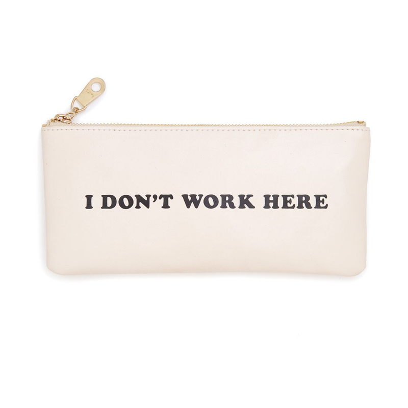 Ban.do - Get it Together Pencil Pouch in I Don't Work Here