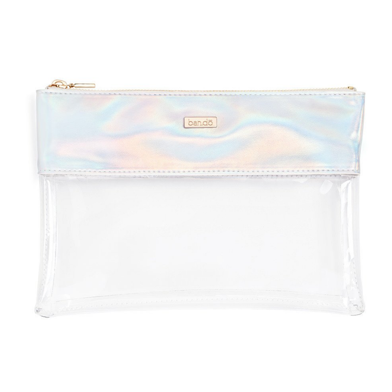 Ban.do - Peekaboo Clutch in Holographic