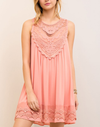 Final Sale - Angel Lace Flowy Dress -  More Colors