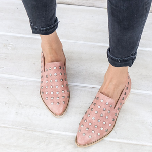 miracle miles - scotti studded low cut ankle boots