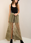 Lace Maxi Skirt in More Colors