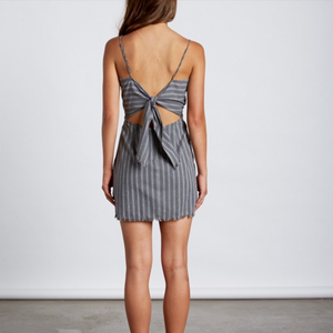 it ain't over stripe dress - more colors