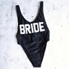 GRL GNG Collection - Bride High Cut Vintage One Piece in Black