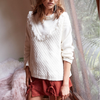 Final Sale - Somedays Lovin - Infinite Skies Jumper in White