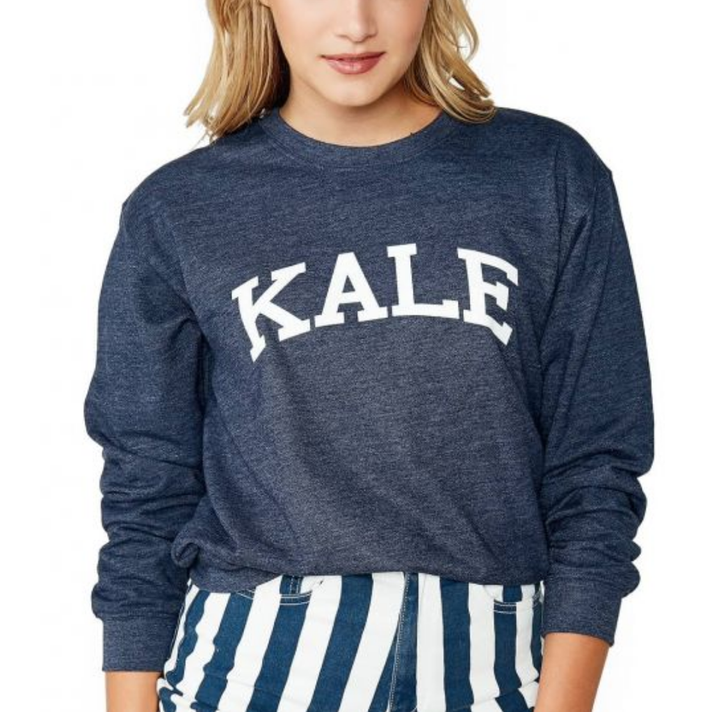 suburban riot - kale willow sweatshirt - navy
