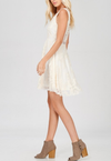 so baroque about you romantic sleeveless lace dress [womens] - more colors