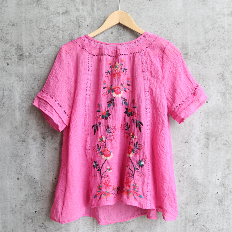 embroidered shirt - more colors