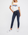 Free People - Reagan Button Front Jeans in Sky