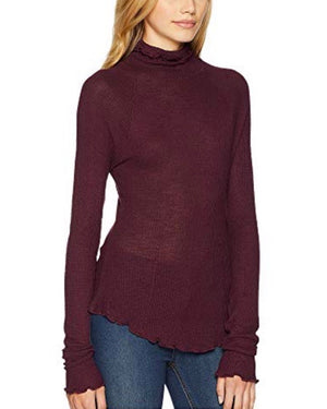Free People - Make It Easy Thermal Top in Plum