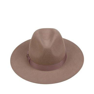 lack of color - the stahl - wool stardust fedora hat