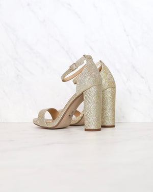 Stepping into Sophistication High Heels with Ankle Strap and Single Band - more colors