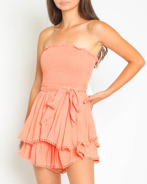 Summertime Magic Smocking Hot Romper in More Colors
