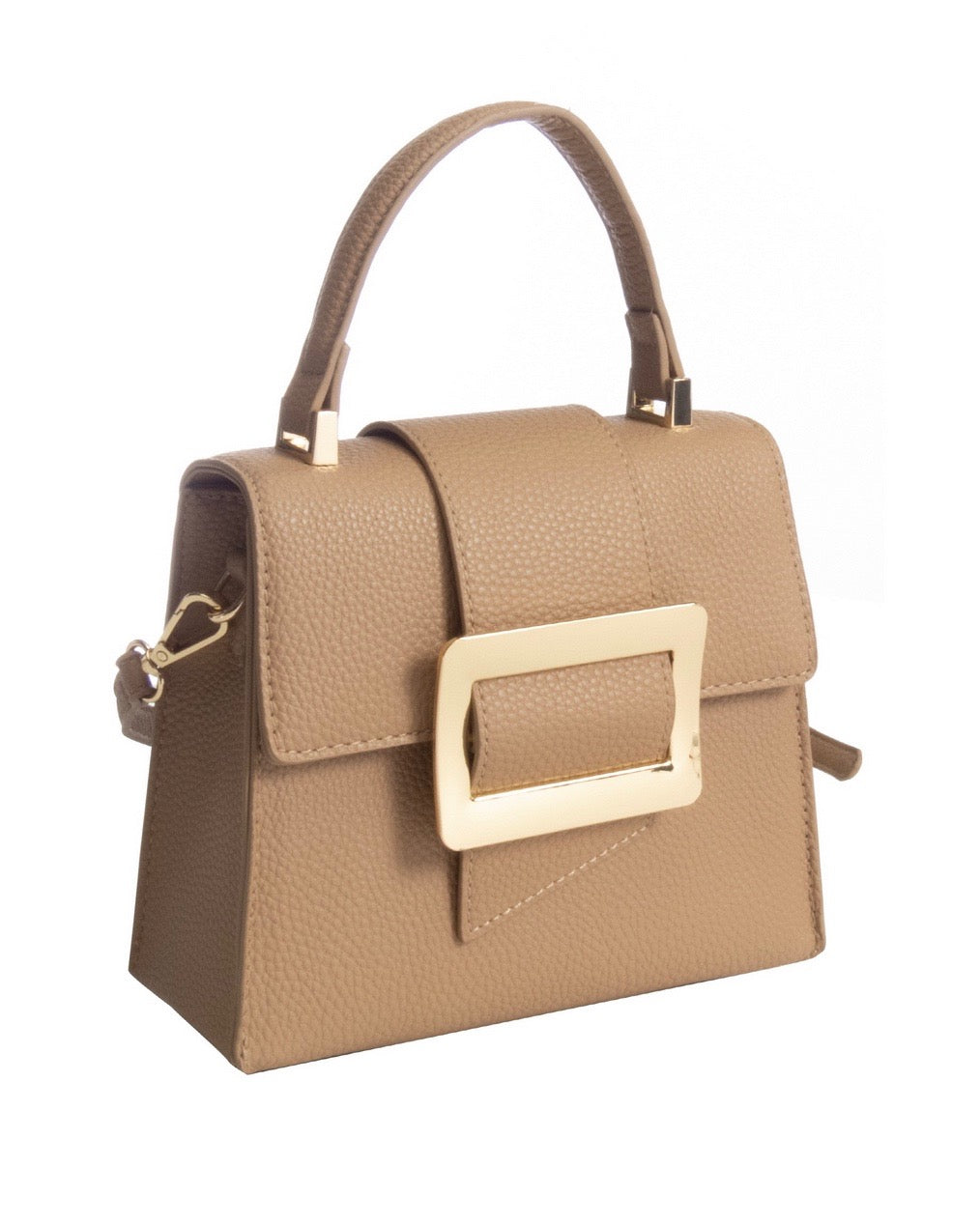 Want It Formal Missy Mini Cross Body Purse in Beige