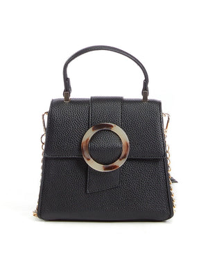 Julia Vegan Leather Mini Satchel Hand Bag in More Colors