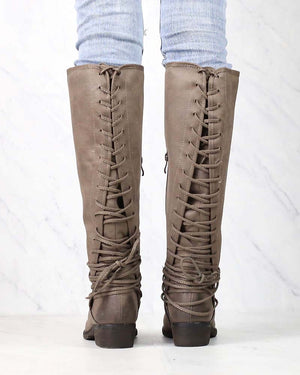 Very Volatile - Marcelina Womens Knee High Zip Boot in More Colors