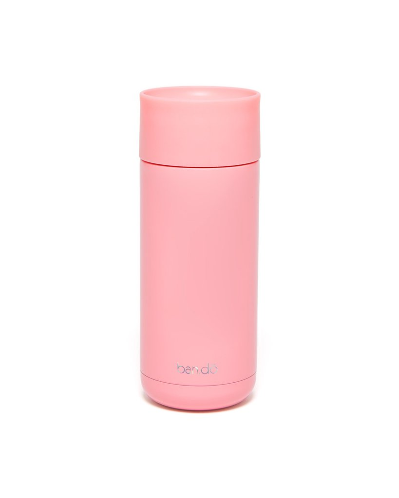 ban.do - Stainless Steel Thermal Mug - I Am Very Busy Pink/Holographic