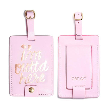 ban.do the getaway luggage tag - lady of leisure