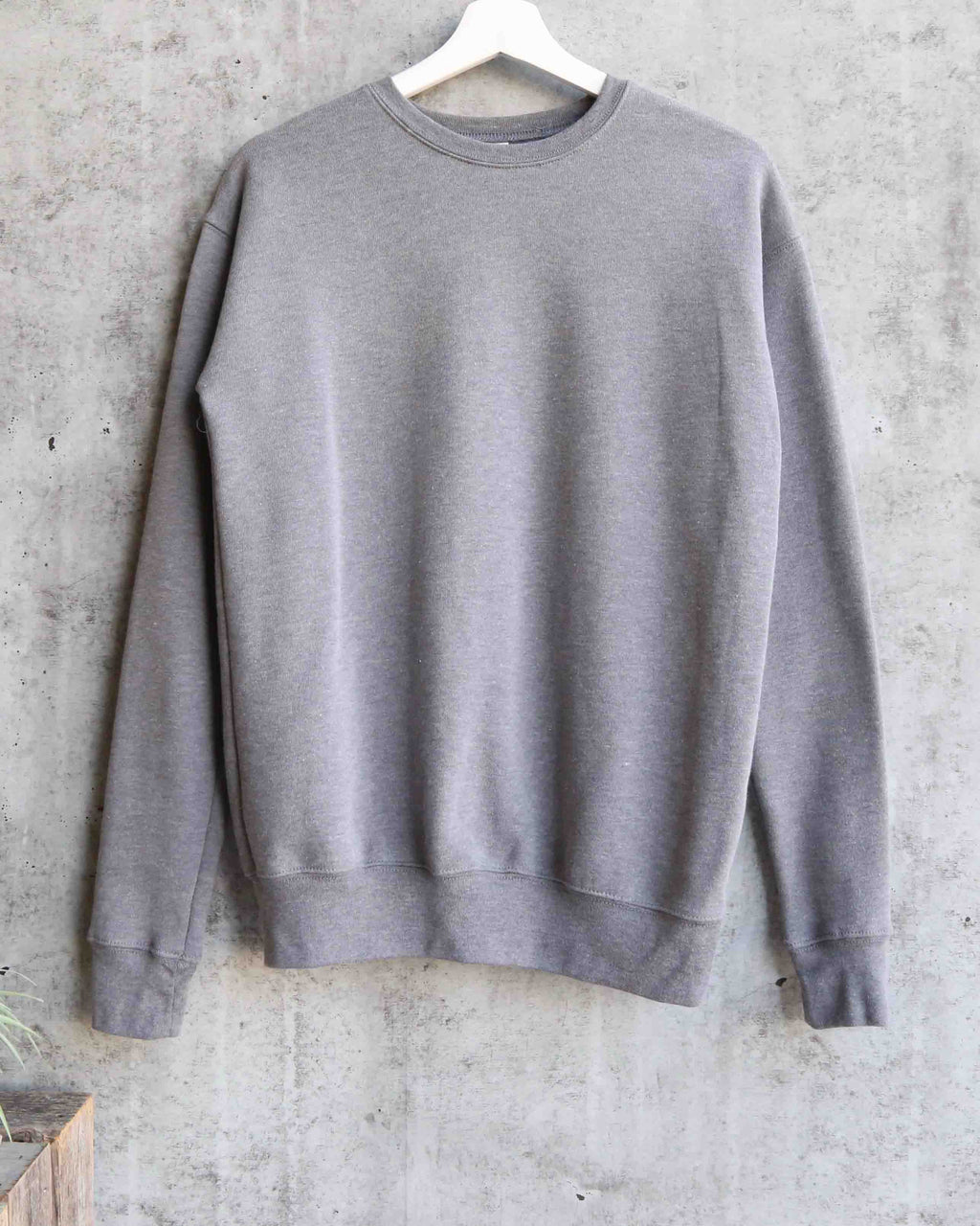 Distracted - Unisex Sponge Fleece Drop Shoulder Pullover Sweatshirt - Heather Grey