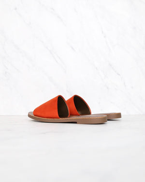 Faux Suede Slip On Sandals in More Colors