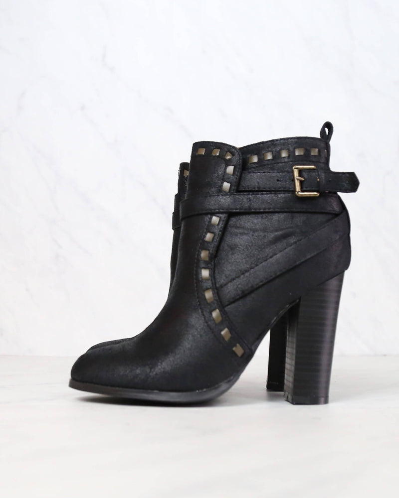 Fairest Ankle Boot of Them All in Black