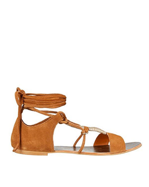 Free People - Fiji Wrap Sandal - Taupe