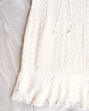 Free People - Cross My Heart Mini in Ivory Ecru