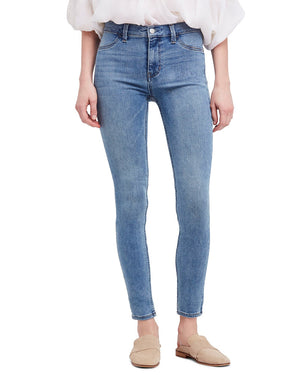 We the Free by Free People - long and lean high waist denim leggings - light wash