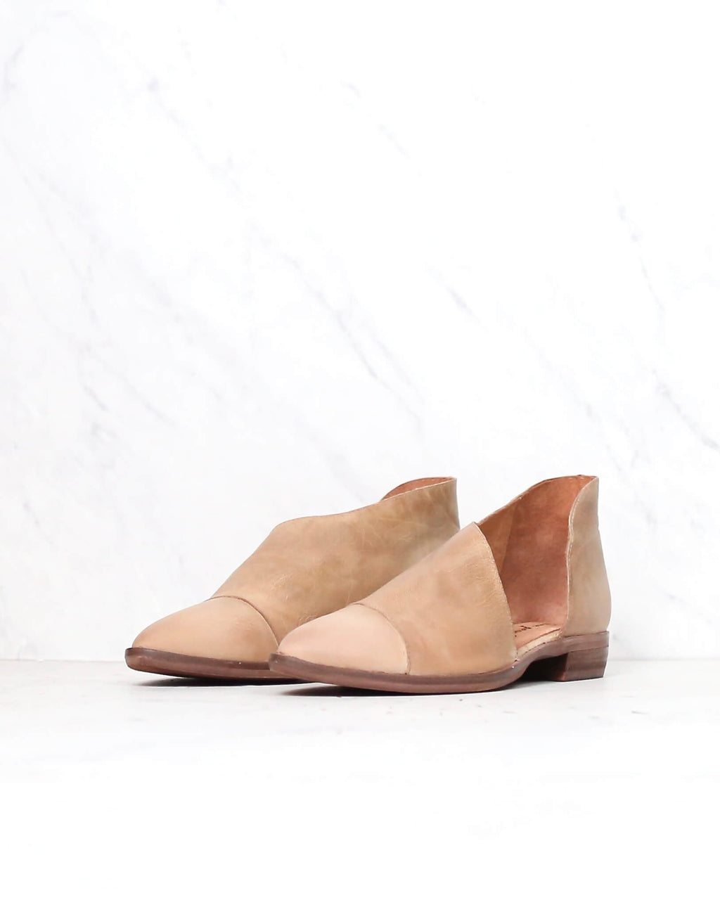 free people - 'royale' d'orsay style pointy toe flat