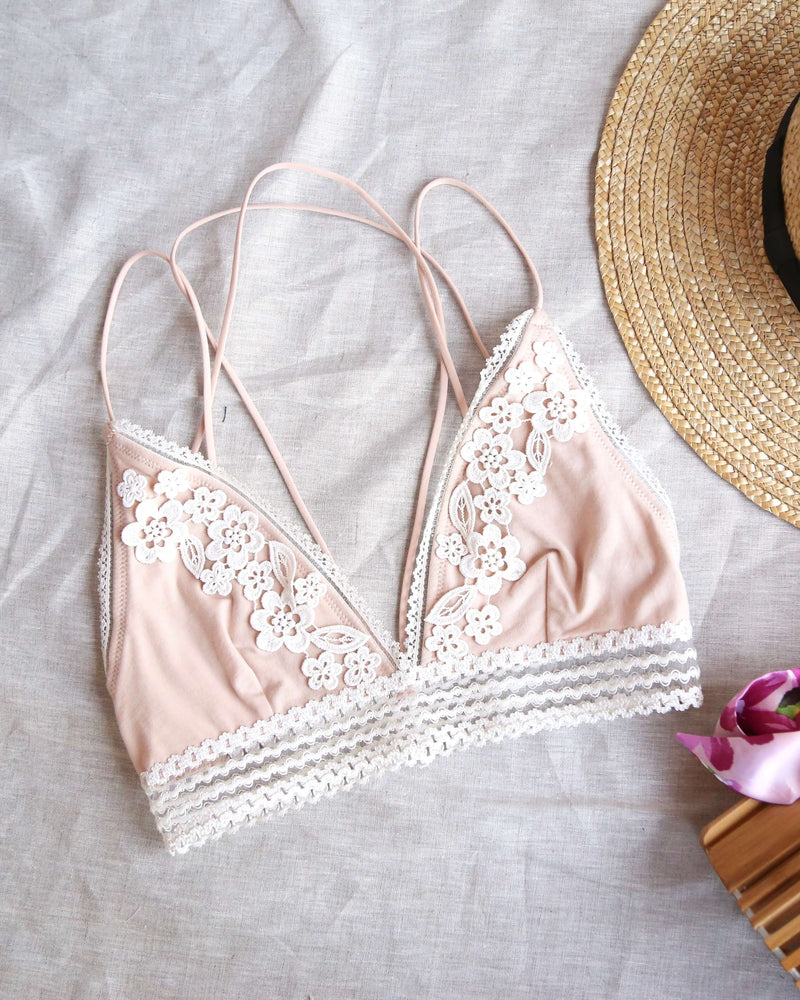 Free People - Cheyenne Bralette in Nude