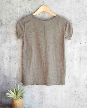 Free People - We The Free - Clare Tee in Green