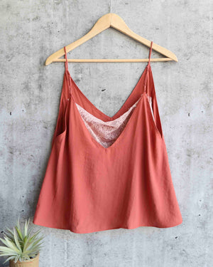 free people - deep v bandeau cami - more colors
