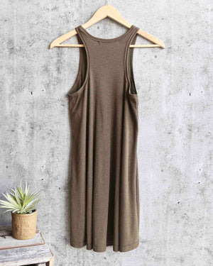 Free People - LA Nite Mini Swingy Ribbed Dress in More Colors