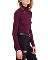free people - make it easy thermal top - plum