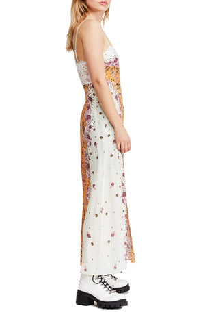 Free People - Morning Song Maxi Dress - Tea Combo